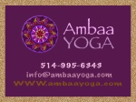 eCard: Ambaa Yoga