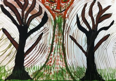 Tree God (2013) by Mihael Kyriakakis
